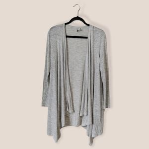American Eagle Outfitters Long grey cardigan